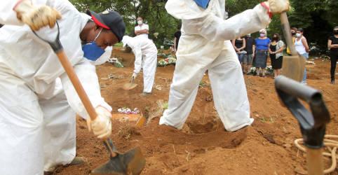 Placeholder - loading - Brasil registra 2.724 novas mortes por Covid-19 e total atinge 287.499