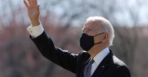 Placeholder - loading - Aprovação de Biden cresce à medida que mais norte-americanos são vacinados, diz Reuters/Ipsos