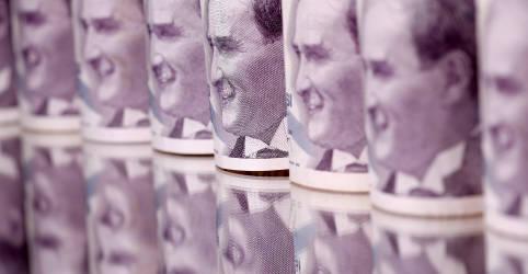 Placeholder - loading - Lira despenca para perto de mínima recorde após Erdogan demitir chefe do BC