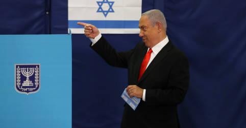 Placeholder - loading - Imagem da notícia Israel vai às urnas e Netanyahu espera que vacinação ofusque acusações de corrupção