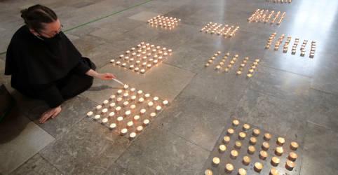 Placeholder - loading - Um ano após primeiro lockdown, Reino Unido lamenta mortos da Covid-19