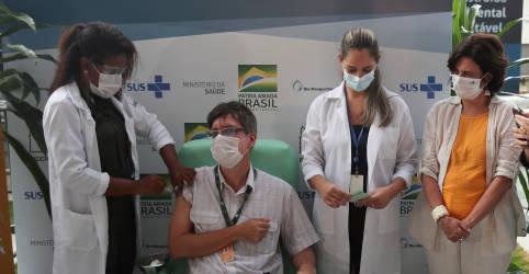 Placeholder - loading - Fiocruz reduz em mais de 10 milhões previsão de doses de vacinas contra Covid para abril