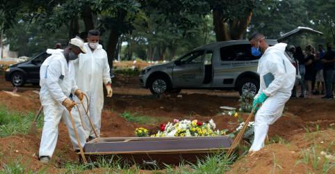 Placeholder - loading - Imagem da notícia Ministério da Saúde recua e suspende mudanças em registro de morte por Covid-19