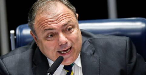 Placeholder - loading - Pazuello diz que foi alvo de ação orquestrada e fala em 'grana com fins políticos'