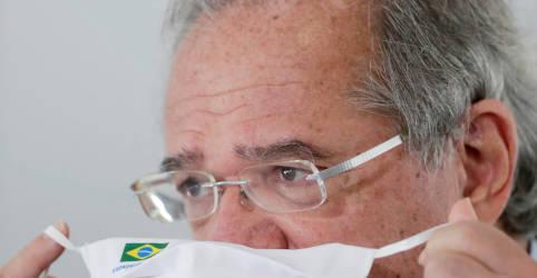 Placeholder - loading - Imagem da notícia Guedes diz que antecipação de 13º a aposentados sairá tão logo Orçamento seja aprovado