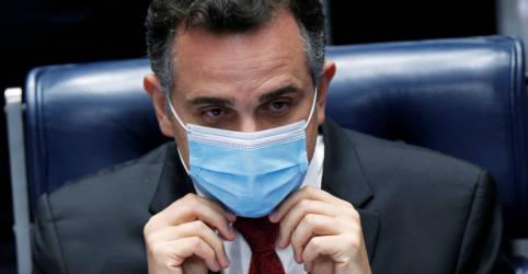 Placeholder - loading - Imagem da notícia 'Sinal amarelo' de Lira demonstra insatisfação do Congresso com governo, diz Pacheco