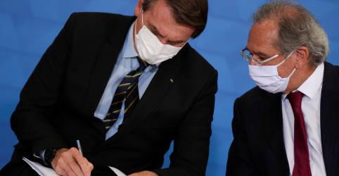 Placeholder - loading - Imagem da notícia Guedes diz que setor privado poderia trazer 500 milhões de doses de vacinas