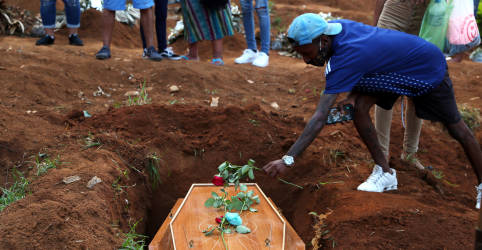Placeholder - loading - Imagem da notícia Brasil tem 3.438 novas mortes por Covid-19, total passa de 310 mil, diz Ministério da Saúde