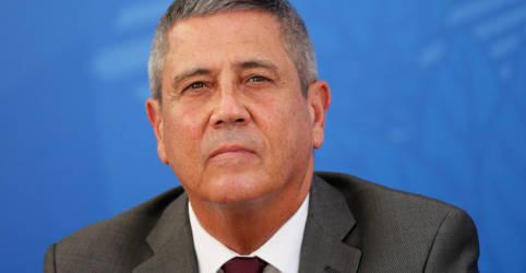 Placeholder - loading - Em texto de estreia de Braga Netto como ministro da Defesa, golpe de 1964 vira pacificação do país