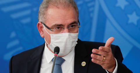 Placeholder - loading - Imagem da notícia Queiroga tem reunião com assessor médico da Casa Branca e diz que tratativas com EUA estão avançadas