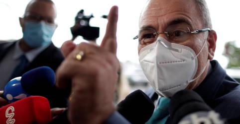 Placeholder - loading - Governo negocia desvio da produção de oxigênio industrial para uso medicinal, diz ministro da Saúde