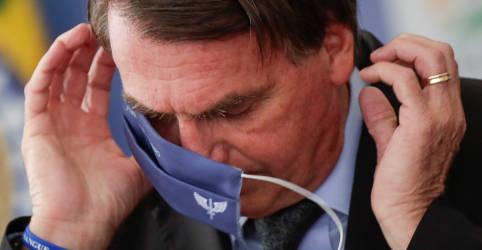 Placeholder - loading - Bolsonaro repete crítica a medidas de restrição de circulação e vai na contramão de ministro da Saúde