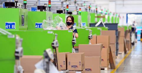 Placeholder - loading - Atividade da indústria da zona do euro dispara em março mas questões de oferta pesam, aponta PMI