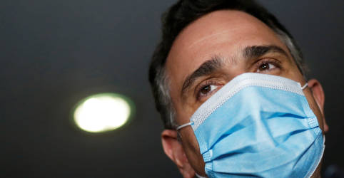 Placeholder - loading - Imagem da notícia Presidente do Senado critica falta de coordenação com entes federados para combate à pandemia