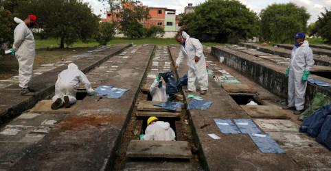 Placeholder - loading - Brasil é uma 'bomba-relógio' e caminha para se tornar pior país do mundo em mortes por Covid