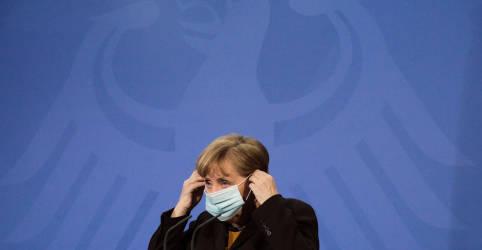 Placeholder - loading - Imagem da notícia Merkel defende lockdown mais rígido na Alemanha
