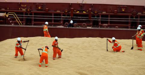 Placeholder - loading - Exportação de soja do Brasil é recorde em março e somará 82 mi t no ano, diz Anec