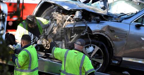 Placeholder - loading - Velocidade excessiva foi causa principal do acidente de Tiger Woods, diz polícia