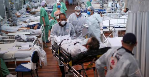Placeholder - loading - Imagem da notícia Brasil tem novo recorde com 4.249 mortes por Covid em 24 horas
