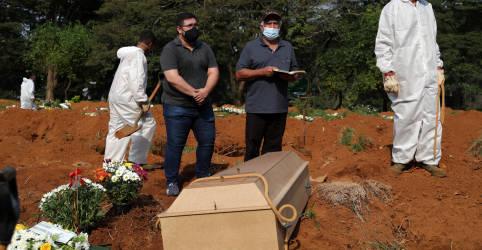 Placeholder - loading - Brasil registra 3.693 novas mortes por Covid-19 e total atinge 348.718
