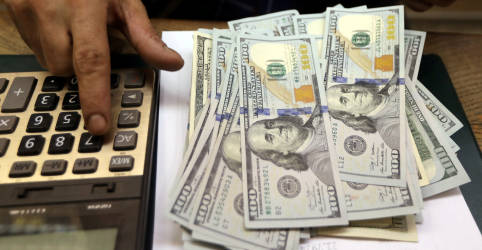 Placeholder - loading - Dólar fecha em alta de 0,90%, a R$5,7258