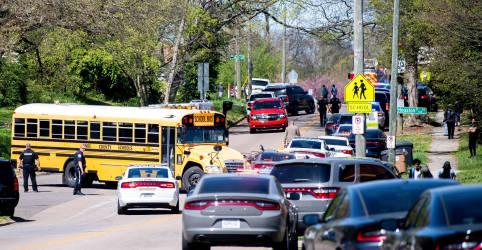 Placeholder - loading - Imagem da notícia Tiroteio em escola do Tennessee deixa 1 morto e policial ferido