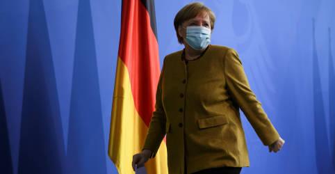 Placeholder - loading - Imagem da notícia Lockdowns obrigatórios são vitais para conter 3ª onda da Covid, diz Merkel