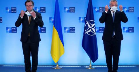 Placeholder - loading - Imagem da notícia Rússia precisa encerrar mobilização militar na Ucrânia, diz Otan