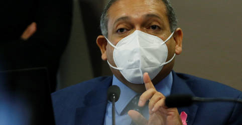 Placeholder - loading - Imagem da notícia Nunes Marques nega pedido para obrigar Pacheco a abrir impeachment contra Moraes