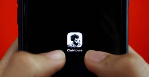 Placeholder - loading - Imagem da notícia Clubhouse fecha novo aporte que avalia aplicativo em US$4 bi, diz fonte