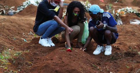 Placeholder - loading - Brasil registra 1.347 novas mortes por Covid-19 e total atinge 374.682