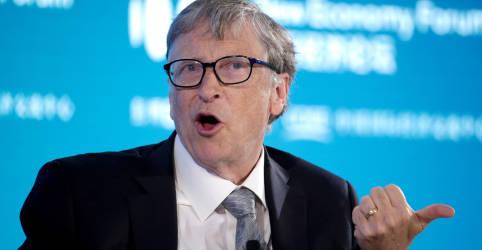 Placeholder - loading - Imagem da notícia Bill Gates e dezenas de líderes mundiais participarão de cúpula do clima, diz fonte