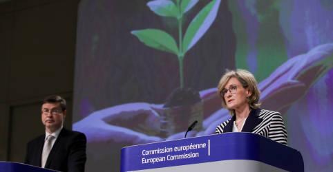 Placeholder - loading - Imagem da notícia UE fecha acordo para ampla legislação climática para acelerar cortes de emissões