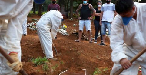 Placeholder - loading - Brasil registra 2.027 novas mortes por Covid-19 e total atinge 383.502