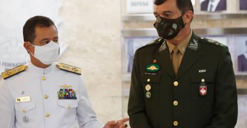 Placeholder - loading - Em primeira mensagem, novo comandante diz querer Exército como 'vigoroso vetor da estabilidade'