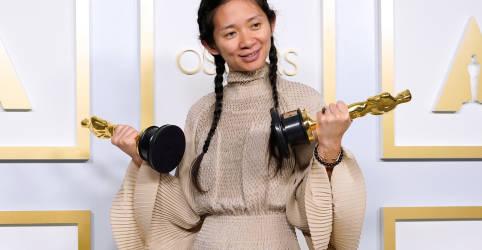 Placeholder - loading - Diretora Zhao faz história no Oscar, mas China censura transmissão