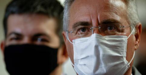 Placeholder - loading - Em derrota para governo, CPI da Covid é instalada com Renan Calheiros como relator