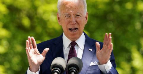 Placeholder - loading - Biden diz estar negociando envio de vacinas contra Covid-19 a outros países
