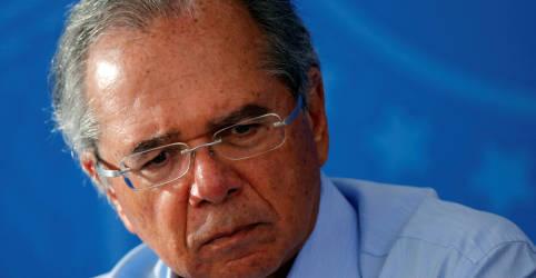 Placeholder - loading - Guedes nega pressão política em trocas na equipe econômica e fala em 'desgaste natural'