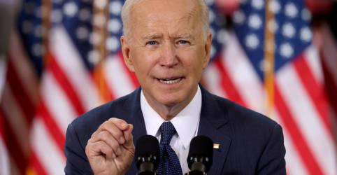 Placeholder - loading - Imagem da notícia Biden defenderá trilhões em investimento e prometerá reforma policial em discurso ao Congresso