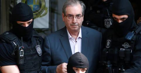 Placeholder - loading - TRF-4 revoga prisão preventiva de Eduardo Cunha, mas proíbe ex-deputado de sair do país