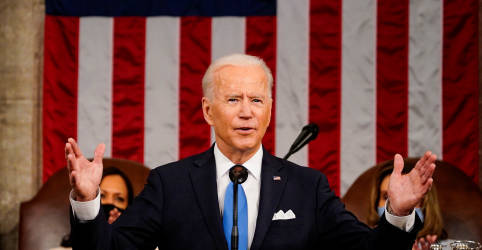 Placeholder - loading - Biden pede unidade e alerta sobre ameaça da China em discurso no Congresso