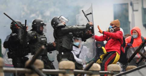 Placeholder - loading - Milhares de colombianos protestam contra proposta de reforma tributária