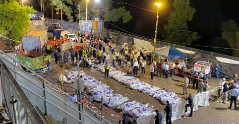 Placeholder - loading - Imagem da notícia Tumulto em festival religioso de Israel deixa 45 mortos