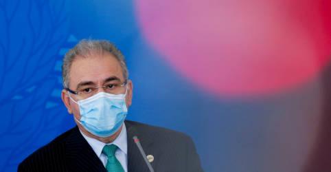 Placeholder - loading - Queiroga pede que países que têm doses de vacina sobrando as enviem ao Brasil