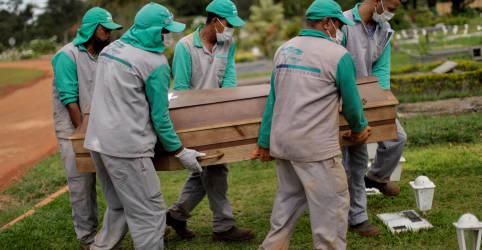 Placeholder - loading - Imagem da notícia Brasil registra 2.595 novas mortes por Covid-19 e total atinge 403.781