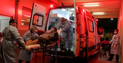 Placeholder - loading - Queiroga culpa falha na assistência de saúde por quantidade de mortos por Covid