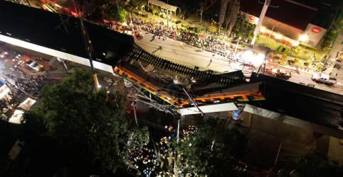 Placeholder - loading - Imagem da notícia Viaduto do Metrô desaba na Cidade do México e mata ao menos 23
