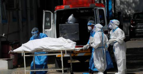 Placeholder - loading - Imagem da notícia Índia registra recorde diário de mortes de Covid; delegados são diagnosticados em reunião do G7