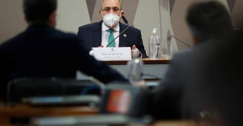 Placeholder - loading - Imagem da notícia Sou contra quebra de patentes de vacinas, diz Queiroga à CPI da Covid